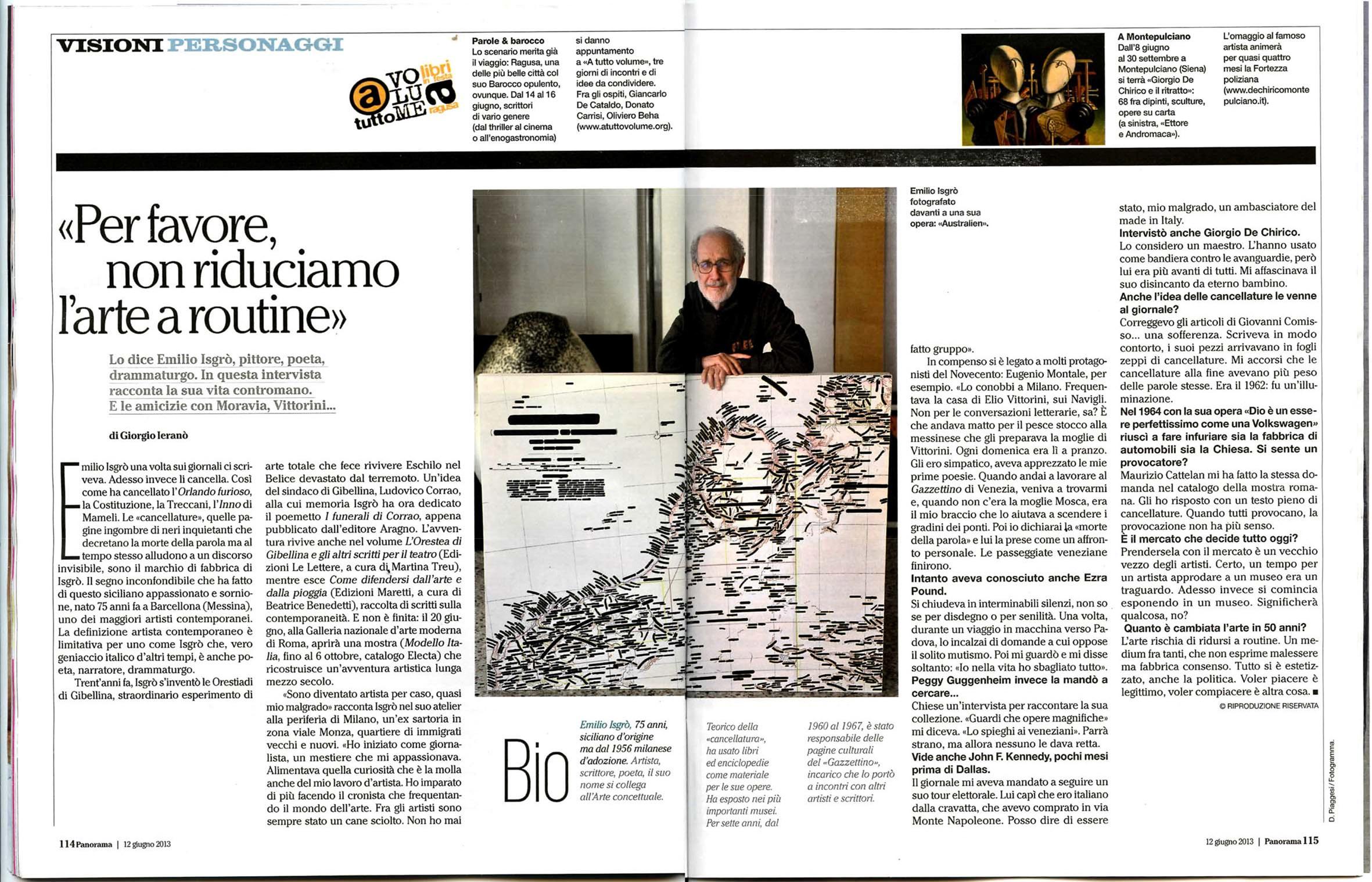 Modello Italia (2013 - 1964) - Galleria D'Arte Boxart